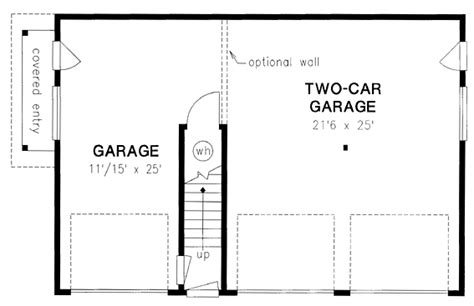 garage door floor plan garage plan 58568 at familyhomeplans com