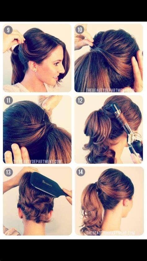 diy 1950 hairstyle diy 50s hair 50s fashion pinterest