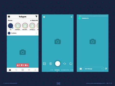 instagram design psd iphone 7 app screen mockup psd free psds sketch app
