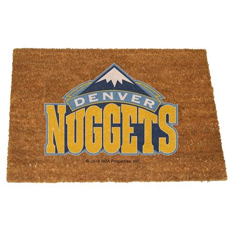 denver nuggets colors denver nuggets color exterior doormat