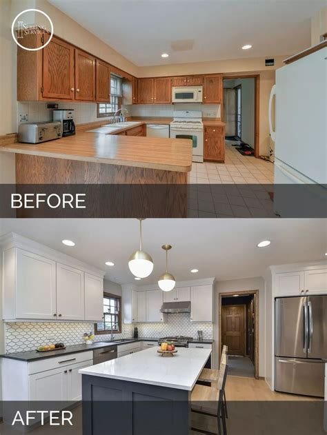 kitchen remodel before and after ideas 25 best ideas about kitchen remodeling on pinterest