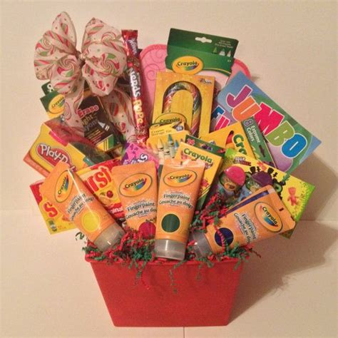 arts and crafts ideas for gifts crayola arts and crafts gift basket