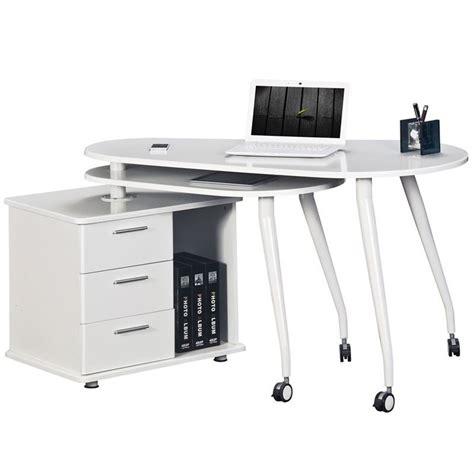 Computer Desk In White Rta 220ab Wht Cymax Computer Desk