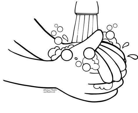 coloring pages of hands with nails washing hands coloring pages 511 school pinterest