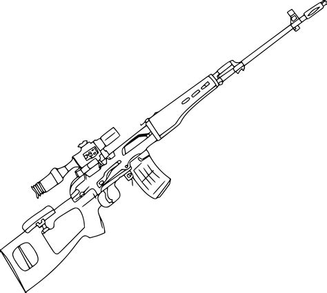 Coloriage Sniper 224 Imprimer Cool Drawings Of Shooting 2