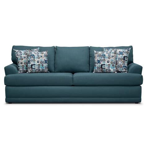city furniture sleeper sofa kismet queen innerspring sleeper sofa american signature