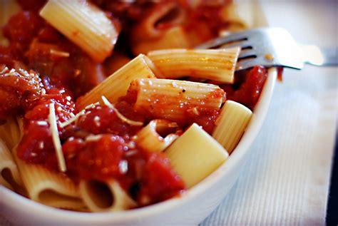 tomato pasta recipe aubergine tomato pasta