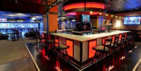 Design Home Audio Video System bowling design cosmic bowling installation sports bar