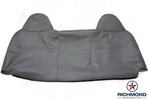 ford bench seat cover 2003 2007 ford f 450 xl vinyl lean back bench seat cover