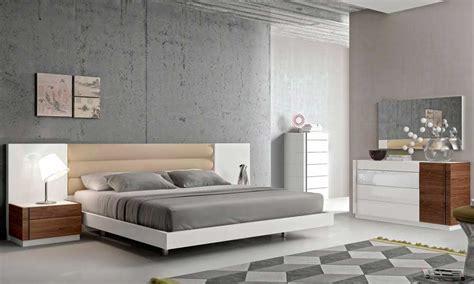 contemporary white lacquer bed sj contemporary bedroom