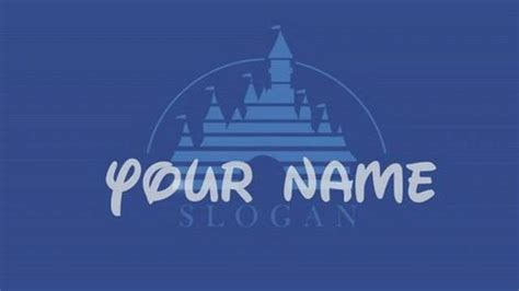 disney powerpoint template free walt disney intro by ballyweg project for after