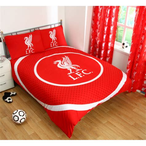liverpool bedroom furniture liverpool fc single and double duvet cover sets bedroom