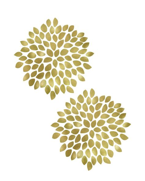 free printable wall art yellow large gold flower printable art these bare walls