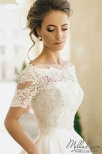 Draped Neckline Dress Best 25 Elegant Wedding Dress Ideas On Pinterest