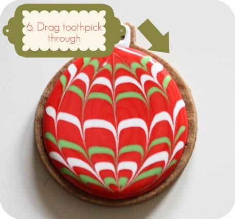 marbled icing christmas cookies how to marble or swirl royal icing sweetopia