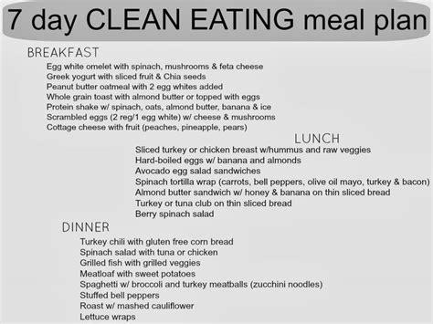 printable clean eating plan 7day clean eating meal plan www simplysadiejane com
