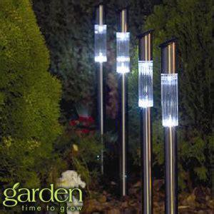 Buy Garden Solar Post Lights 4 Pack At Home Bargains Home Bargains Lights