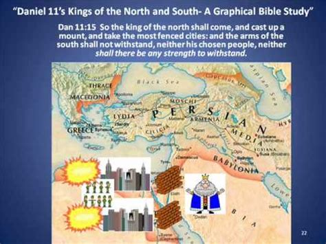 the coming king of the understanding daniel 11 40 45 books daniel 11 s of the and south