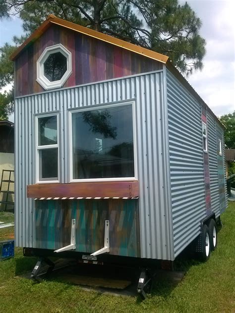 metal tiny house erin rob build a tiny house