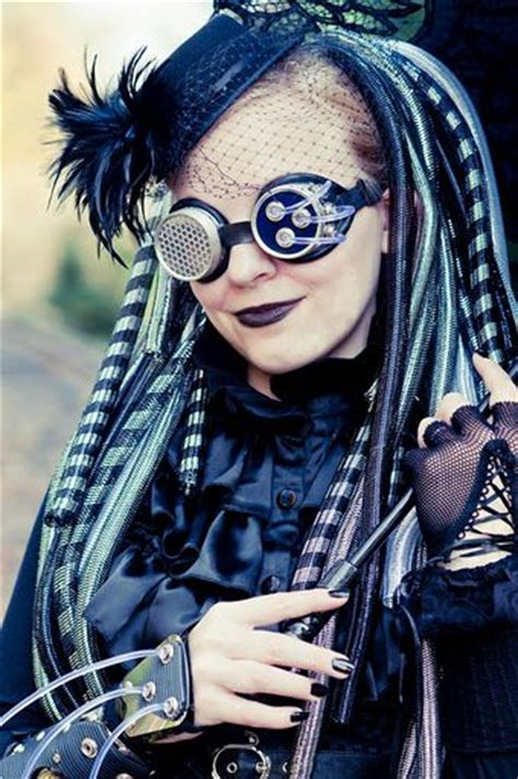 halloween punk hairstyles 71 best steunk inspired hair images on pinterest