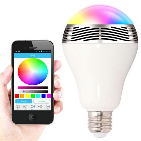 led smart light bulb jbl 01 smart led bulb l with bluetooth speaker e27 base