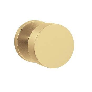 Satin Brass Door Knobs by Baldwin 5055 Modern Door Knob Lowpricedoorknobs