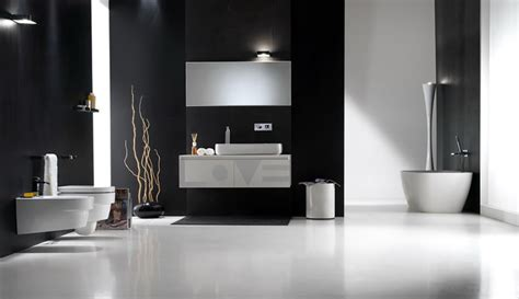 black and white bathroom design inspirations digsdigs - Black And White Bathroom Designs