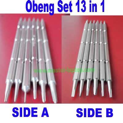 Obeng Set Untuk Laptop mobile version obeng set 13 in 1 laptop phone