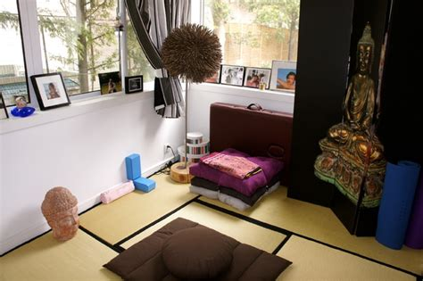 yoga bedroom yoga meditation room asian bedroom other metro