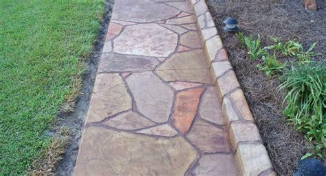 Tumbled Bluestone Patio Stamped Concrete Ideas Stamped Concrete Patio Designs