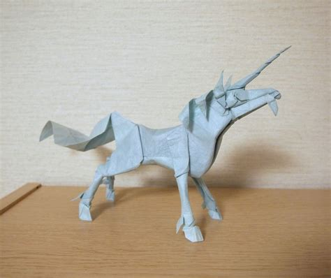 Easy Origami Unicorn - awesome origami to make your day cool the stuff