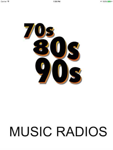80s online radio app shopper all 70s 80s 90s music