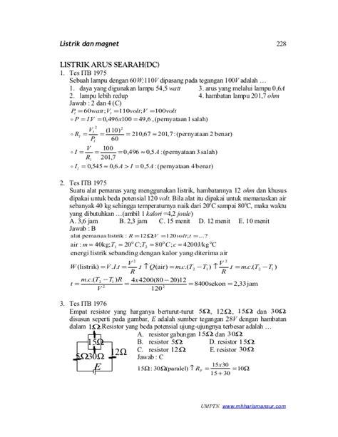 Cd Listrik Dan Magnet listrik dc
