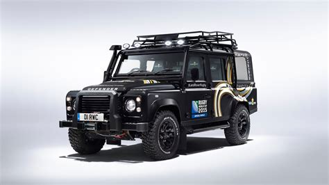 land rover defender 2015 land rover defender svo revealed for rugby world cup