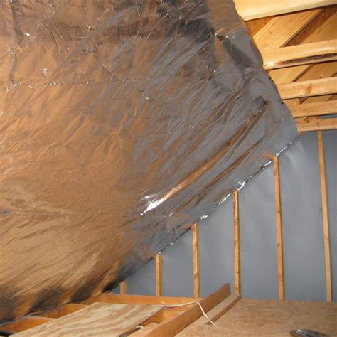 reflective paint vs foil attic foil radiant barrier radiantguard 174 ultima foil insulation radiant barrier 500