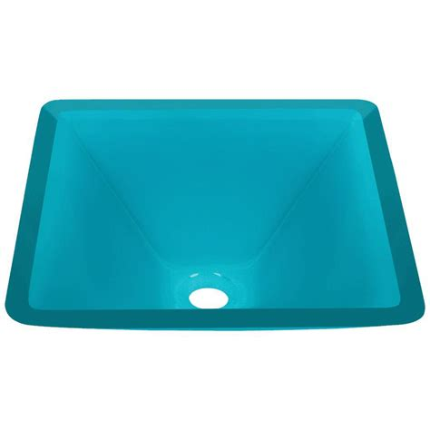 mr direct vessel sinks mr direct glass vessel sink in turquoise 603 turquoise