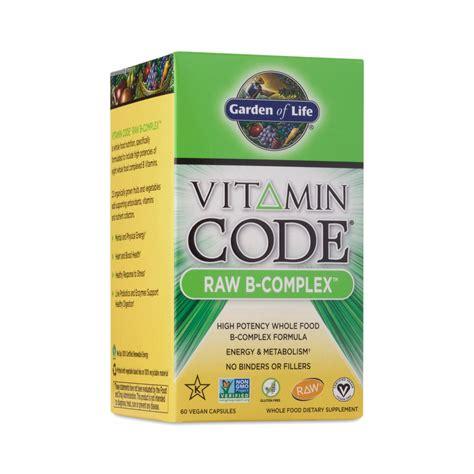 Garden Of Vitamin B Complex Garden Of Vitamin Code 174 B Complex Supplement