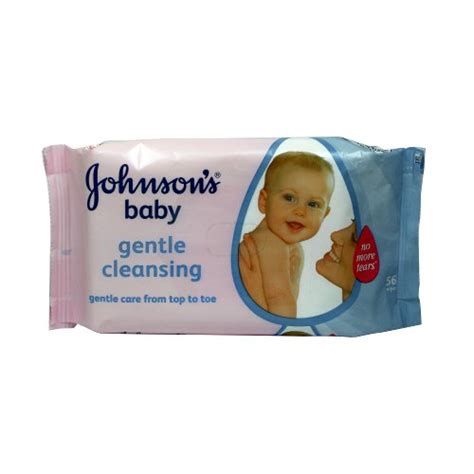 Gentle Detox For Babies by Johnson 180 S Baby Wipes Gentle Cleansing 56 Pcs