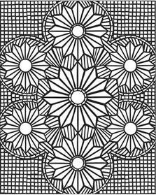mosaic coloring books 3d mosaic coloring page free printable diy craft