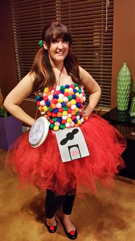 diy halloween costume gumball machine diy halloween