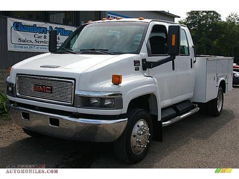 2004 gmc c series topkick c4500 crew cab utility truck in