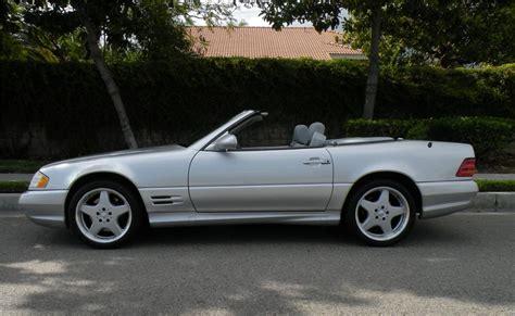 2001 mercedes benz sl500 convertible 130985