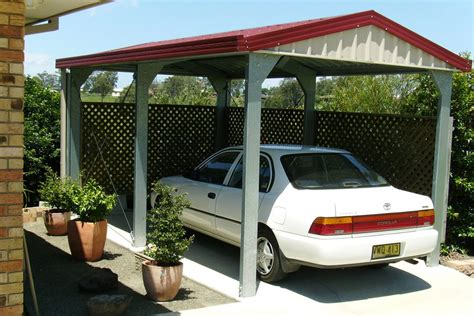 One Car Carport by Carports Sheds And Garages For Sale Ranbuild