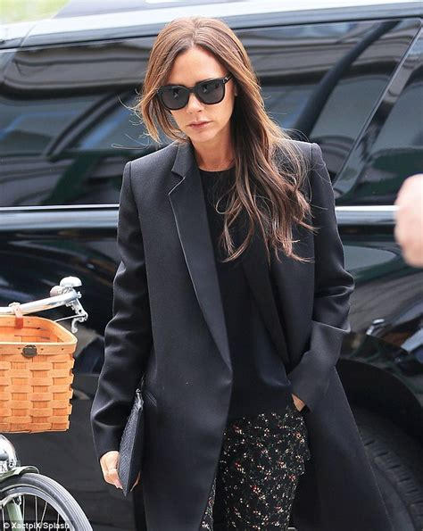 Never One To Miss A Trend Beckham In Pvc by Beckham Carries On Stylish Trend In