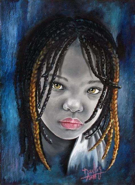 pinturas al oleo de rostros 61 best images about a r t african children by dora alis