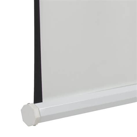 Simple Screen Tripod 120 4 3 Matte White new 120 quot 4 3 tripod compact portable projector projection screen matte white ebay