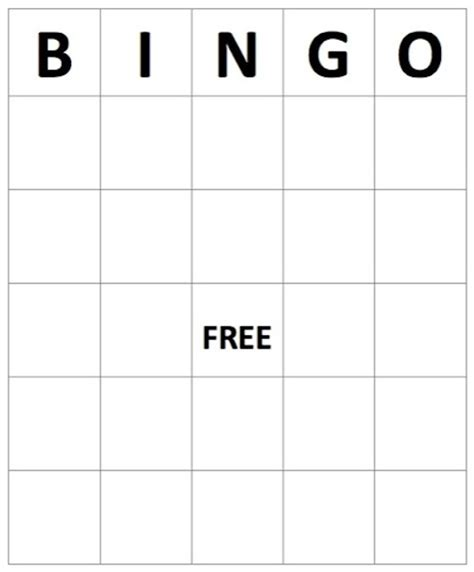 excel gaming card template 11 best images of excel bingo card printable template