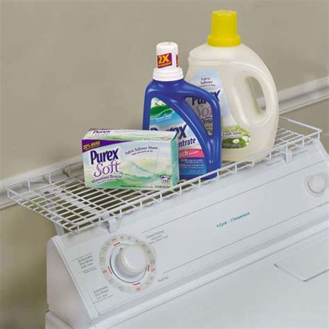 Washer Shelf the washer storage shelf in laundry room organizers