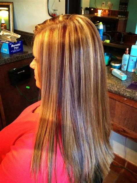 blonde highlights with caramel lowlights strawberry blonde hair with red violet lowlights and