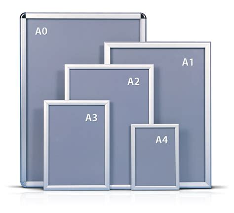 5x A2 Square Corner Wall Mounted Snap Frame Photo Frame | 5x a2 square corner wall mounted snap frame photo frame